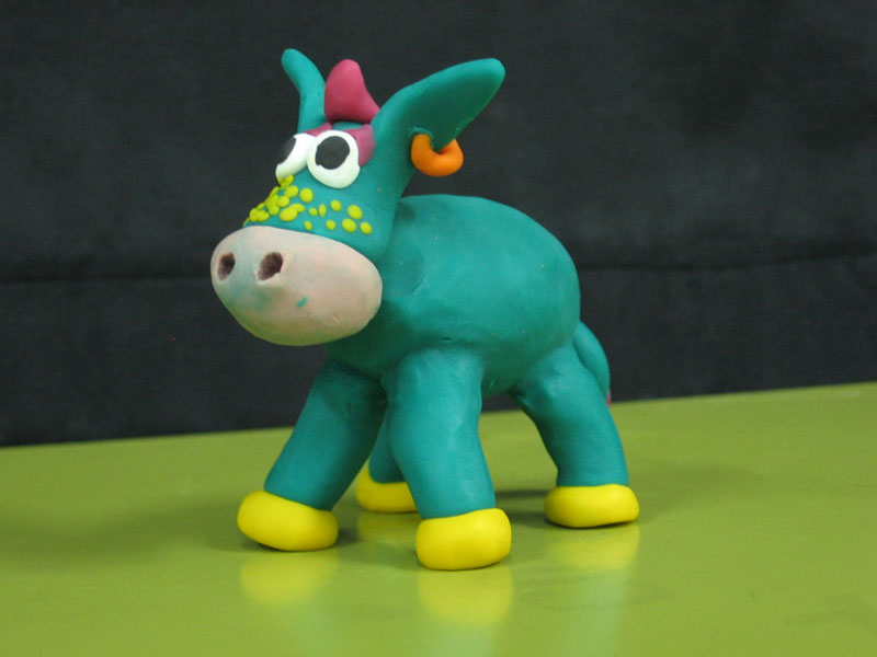 Cool Donkey from plasticine | Tal Ami
