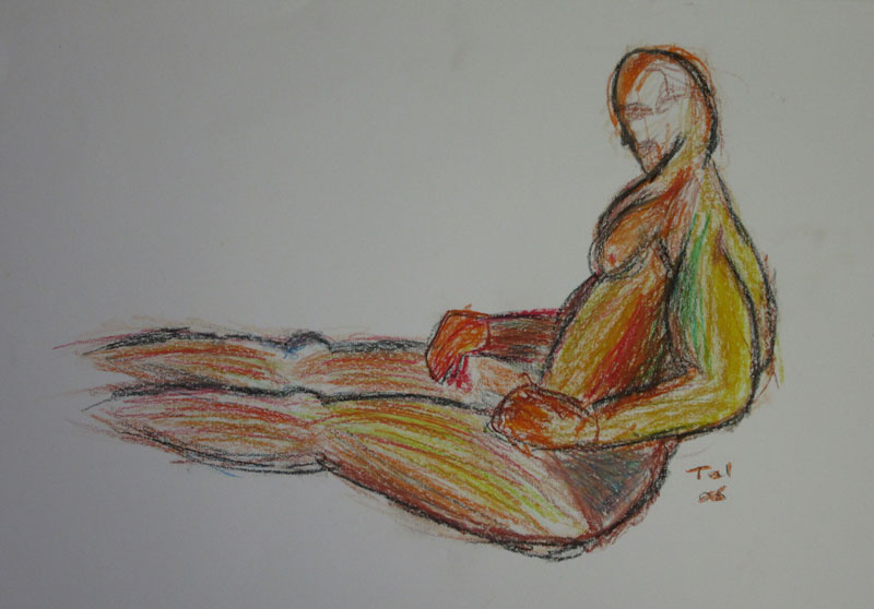 Sprawled Relaxation | Tal Ami | http://tal.am/en/more/3d/sketch