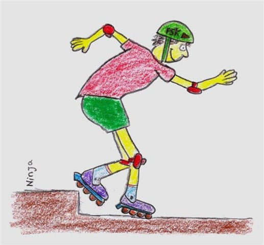 Inline Skates | Tal Ami | https://tal.am/en/more/3d/sketch