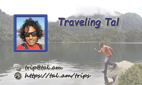 Contact Card | Traveling Tal