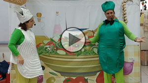 Salad Party in Arabic - Performance Summary | Tal Ami